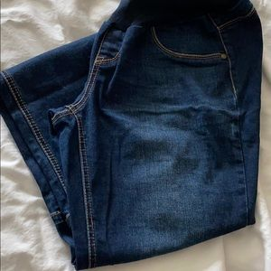 Jessica Simpson Bootcut Maternity Jeans, Size L